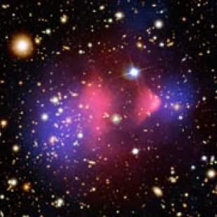 Indication of dark matter